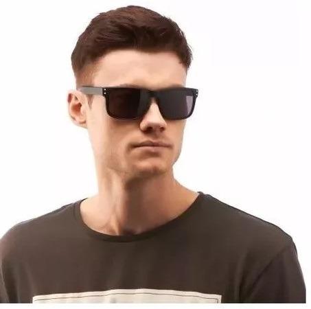 e0bbbeb1b06c7 Óculos Espelhado Preto Quadrado Masculino Homem Esportivo - R  34,44 em  Mercado Livre