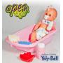 Bebe Yoly Bell +bañera+duchador+acc /open-toys Avell 26