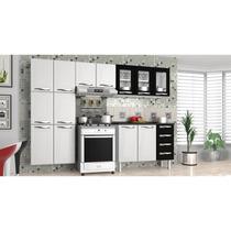 Cozinha Em Aço Colormaq 4 Peças 13 Portas Com Balcão