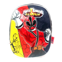 Mochila Espalda Power Rangers Samurai 12 Jugueteria Aplausos