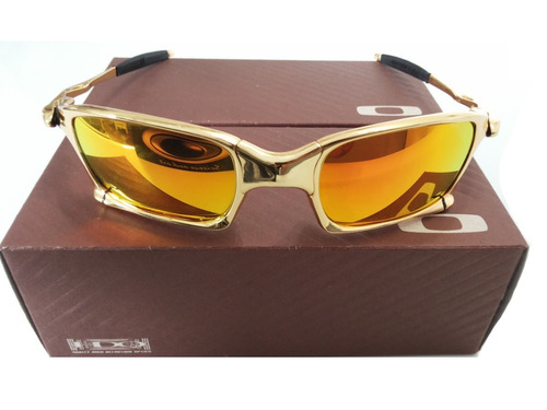 8635b5ae42 Oculos Oakley Juliet 24k Double X Squared Dourada Gold - R  230