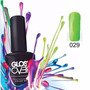 Esmalte Gel Uñas Tipo Gelish Gloss Over Color Bright Green