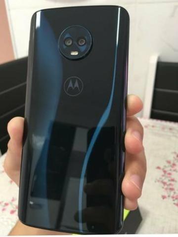 a2a9f7e75 Smartphone Motorola Moto G6 Plus 64gb Tela 5.9 Índigo - R  1.435