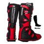 Bota Motocross Pro Tork Combat 2 Vermelha + Meião + Frete