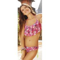 Bikini Top C/alm+tiro Corto Tutta La Frutta 409-17 Mallas