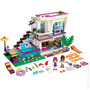 Friends 41135 Livi Pop Star Casa Piscina Lego Compatível