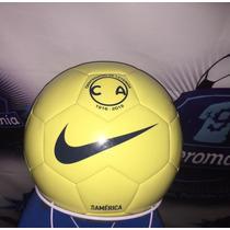 Balón Oficial Club América Centenario Nike Amarillo 2016