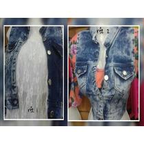Chaleco De Jeans Para Damas A La Moda S, M,l Y Xl