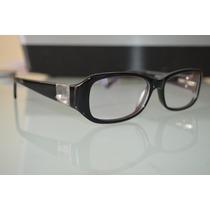 Óculos Armação Pra Grau Preto Troca Lente Titanium Fem Masc