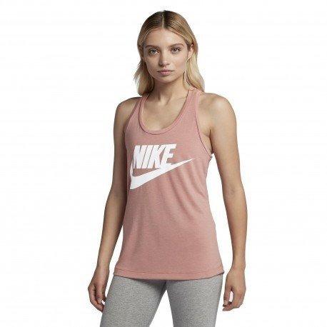 Camiseta Nike Feminina Regata Essentials 831731-685 Original - R  125 fd302dd83c8