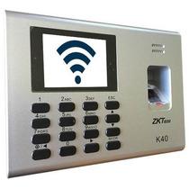 K40wifi K40 Wifi Reloj Checador Con Control De Acceso / Red
