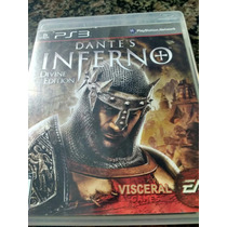 Dantes Inferno Ps3 Jogaço De Aventura Estilo God Of War Top