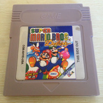 Fita Super Mario Bros Deluxe Game Boy Nintendo Gb Gba Nova