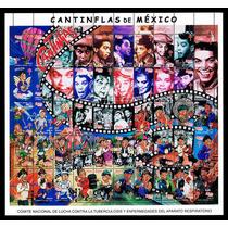 Mexico 2000 Cantinflas Planilla De 50 Timbres Diferentes Msi