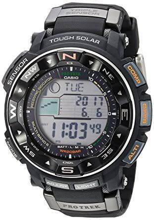 2772cfa014b Relógio Casio Protrek Tough Solar Prw-2500r-1cr - R  1.999