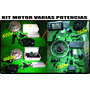 Bicicleta Electrica Motor Kit De 350w-varias Potencias
