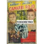 Afiche De Cine Canario Rojo Con Elder Barber 1955