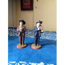 Figuras De Músicos De Barro O Terracota Antiguas Tlaquepaque