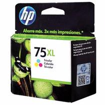 Cartucho Hp 75xl Color Original Nuevo Super Precio De Regalo