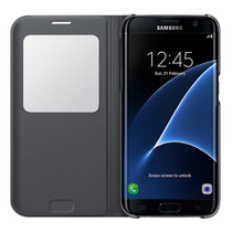 Funda Samsung Galaxy S7 Edge S-view Flip Cover 100% Original
