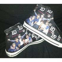 Zapatillas Personalizadas De One Direction!
