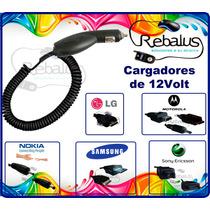 Cargador Auto 12 Volts Nokia 1100 1112 6230 Barato