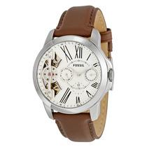 Relógio Masculino Fossil Grant Watch Me1144 Automatico (nfe)