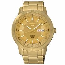 Relógio Seiko 5 Automático 21jewels Snkn62b1 C1kx Original