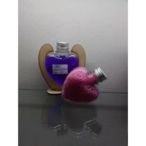 Envases Corazón Ideal Souvenir Perfumes Esencias Difusor