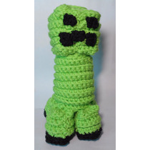 Creeper (minecraft) A Crochet Amigurumi