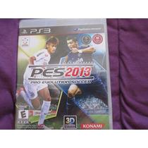 Pro Evolution Soccer 2013 Pes 13 Sony Playstation Ps3 Konami