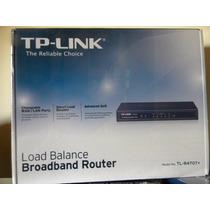 Router Tp-link Tl-r470t+ Balanceador De Carga Hasta 4 Wan