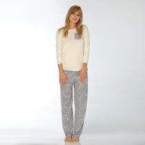 Pijama Talles Especiales Clásico Luz De Mar Dreams 81043 B1
