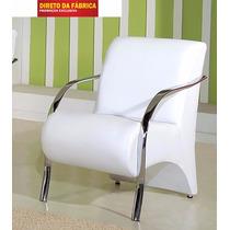 Poltronas Decorativas Cadeiras De Sala De Estar Recepção