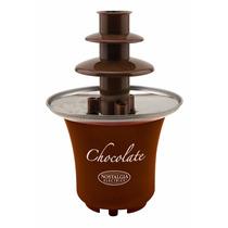 Fuente De Chocolate Nostalgia Electrics Cff300 Mini Chocolat