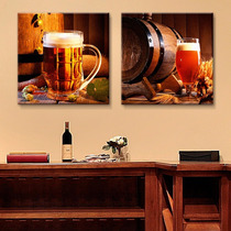 Cuadros Decorativos 2 Pz 40x40cm Cerveza De Barril