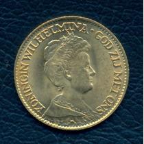 Moneda Holanda 1917 10 Gulden Km#149 (oro)