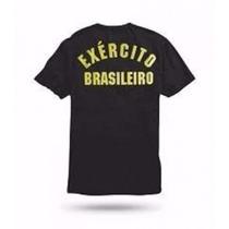 Camiseta Exército Brasileiro, Preta