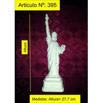 Estatua De La Libertad De Yeso Figura Gran Calidad