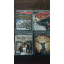 Lote De Jogos Playstation 3 ( Saga God Of War )