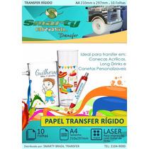 Papel Transfer P/ Estampar Produtos Em Acrilico - 100 Folhas