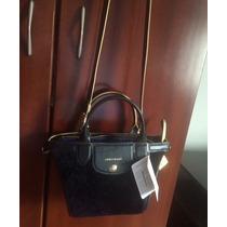 Bolsa Nova Longchamp Lepliage Heritage Luxe Tiracolo Ou Mao