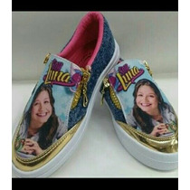 Zapatos + Franela Soy Luna Combo