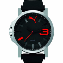 Puma Ultrasize Bold Silver 50mm Pu103911006 Reloj Diego Vez