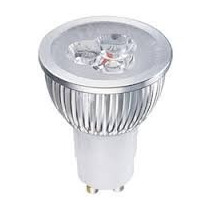Lampada Spot Led Dicroica Branco Frio 3w Gu10 Bivolt