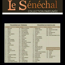 Perfume 20ml Extrato Le Senechal 90 Fragrâncias Disponíveis