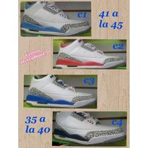 Zapatos Nike Jordan Cocodrilo Retro 3 35 A La 45