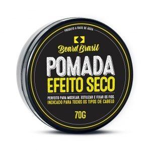 c4edb1477 Pomada Para Cabelo Masculino Efeito Seco Beard Brasil 70g - R  39
