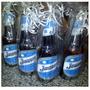 Souvenir Cerveza Quilmes Personalizada 12 Porrones + 1 Gde
