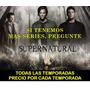 Pelicula Serie Tv Dvd Supernatural Sobrenatural En Español